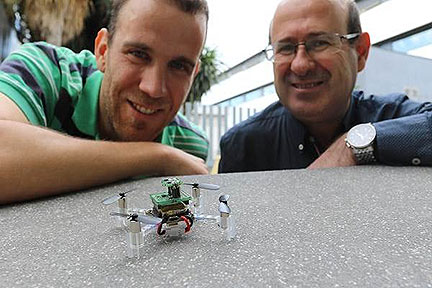 Nanodrone Detects Toxins Indoors