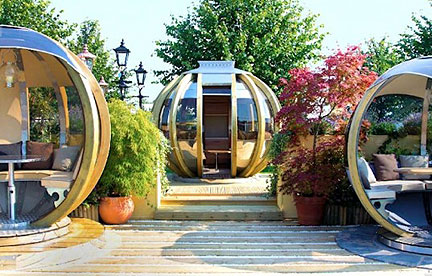 L rotating pods offer outdoor living options 5928