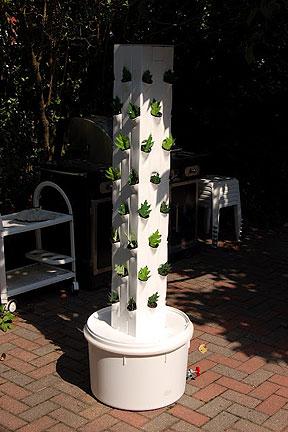 Vertical garden tower for Vertical garden tower