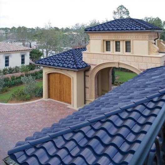 Roofing Tiles Double As Solar Panels
