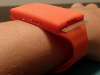 Paper-Based Fitness Tracker Made from Household Materials