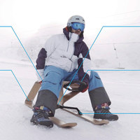 Performance Carving Sports Sled from Aroc
