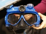 Scuba-Mask Video Camera