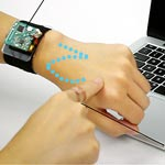 SkinTrack Turns the Arm Into a Touchscreen