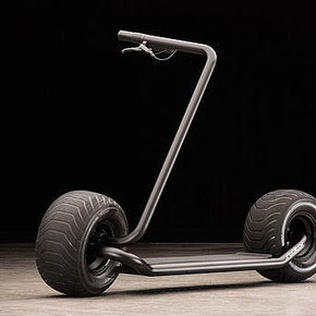 Strator Fat Tire Folding Scooter