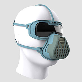 ViriMASK Protects Eyes, Mouth, and Nose