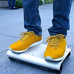 WalkCar Is a Bag-Sized Personal Transport Device
