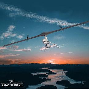 Wing-Spinning ROTORwing VTOL Drone
