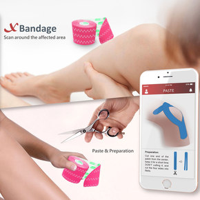 Xbandage Guides Application with AR