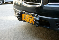 Patent for Sale: License Plate Guard