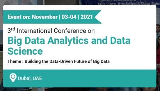 International Conference on Big Data Analytics