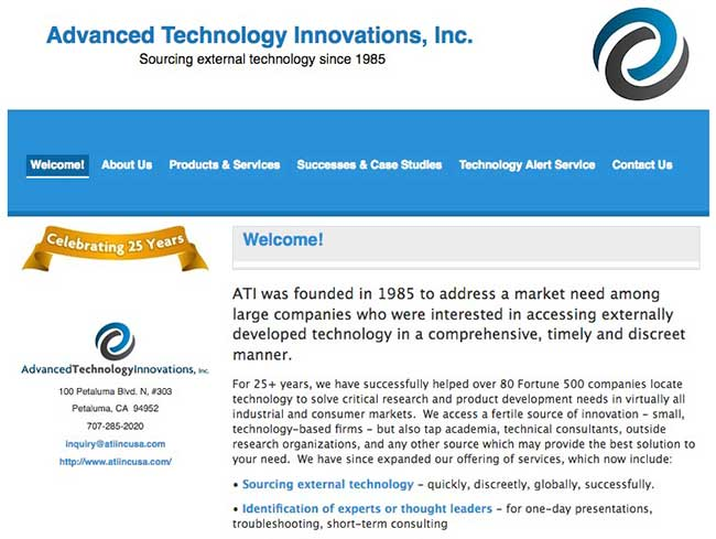 Advanced Technology Innovations, Inc.