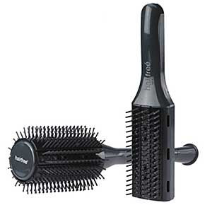 Self-cleaning Hairbrushes