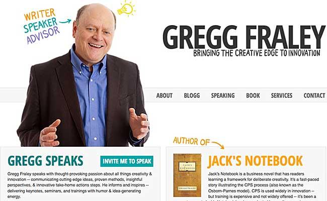 Innovation Speakers Gregg Fraley