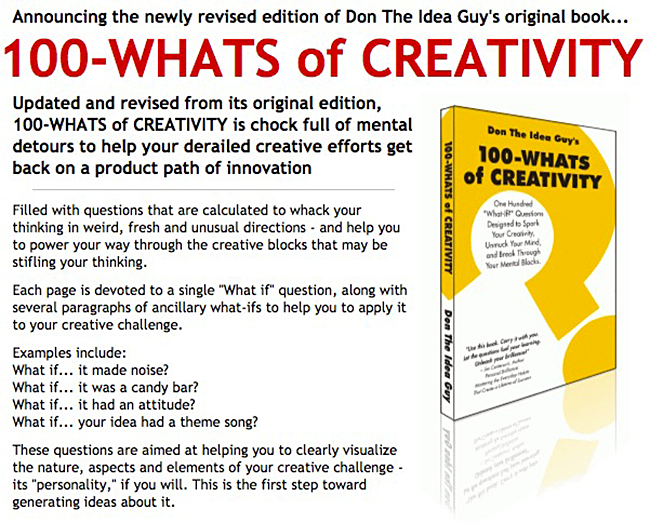 100-WHATS of CREATIVITY