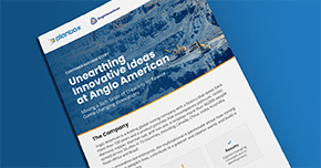Case study: Unearthing Innovative Ideas at Anglo American