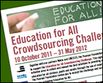 Crowdsourcing the Education Needs of the World